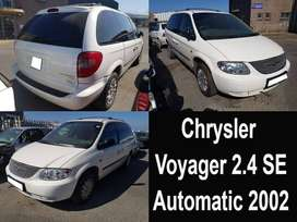 Chrysler Voyager 2.4 SE Automatic 2002 stripping for spares.