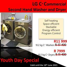 Start a Laundry Service Commercial Grade Washer and Dryer