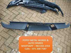 FORD RANGER REAR BUMPER TOP COVER