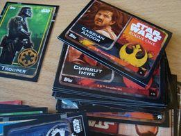 star wars rogue one karty filmowe kolekcjonerskie dużo