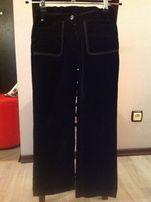 Черные брюки джинсы Польша р.134