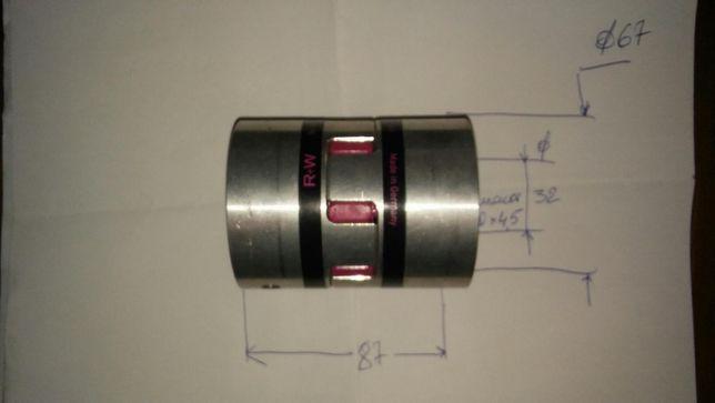 Соединительная муфта ROTEX ф32мм (Муфты соединения валов )