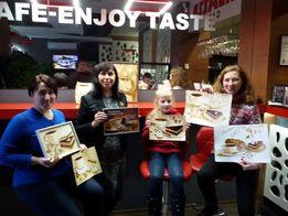 Подарочный сертификат на мастер-классы по кофейной живописи