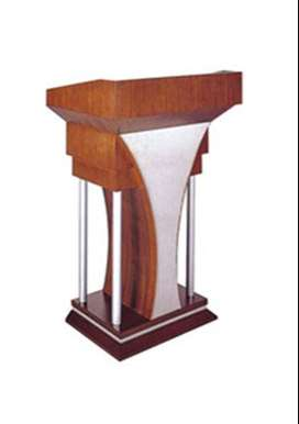 Pulpit Wooden and Steel Furniture Podiums Big Sale