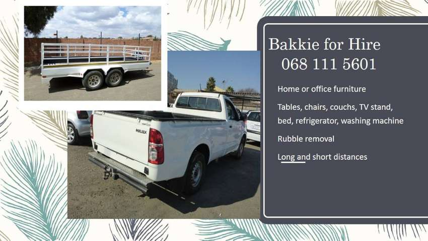 Bakkie for Hire: The Transporter