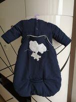 Демисезонный комбенизон куртка конверт для новорождённых IDEXE