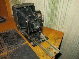 Фотоаппарат Фотокор № 1 с кассетами для фотопластинок