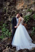 Продам вишукане весільне плаття ручної роботи!