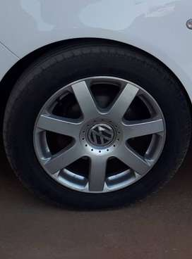 16 Rims for VW with tyres X4