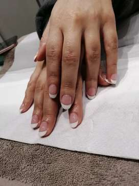 Manicure pedicure and acrylic services