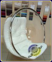 Эксклюзивное подвесное кресло Bubble chair - прозрачное из акрила