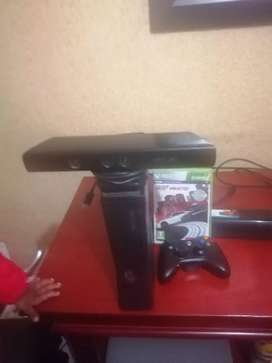 Xbox 360 plus kinect, one controller and one game need for special