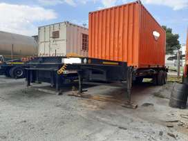 DOUBLE TRIAXLE TRAILER FOR SALE