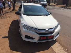 White  Automatic Honda Ballade 2016 Model in excellent condition!!!