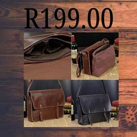 Handbag leather and 2 bags