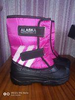 сапожки на слякоть дутики сноубутсы Аляска