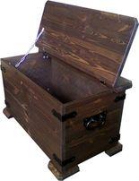 Деревянный ящик, сундук, сосна