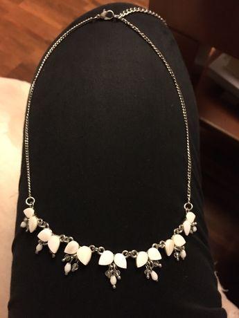 Komplet biżuterii masa perłowa, kwiatki Kalisz - image 3