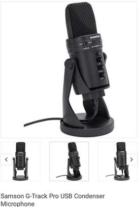 Samson G-track USB microphone for sale Hurry