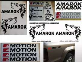 Amarok stickers decals vinyl cut graphics kits