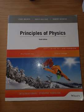 Principles of Physics 10E