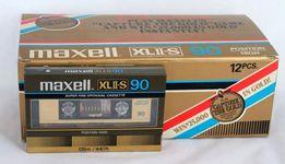 Касета, аудио кассета Maxell XLII-S 90 1982-83р