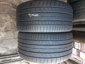 2x255/35/18 continental  normal tyres for sale still in good continue