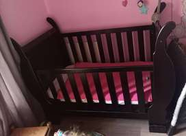 Sleigh cot and bath compactum for sale