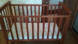 Кроватка Верес Соня с матрасом и защитой