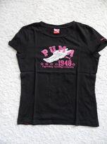 Nowa czarna koszulka PUMA rozm. 36 oryginał