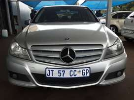 2012 Mercedes Benz C-180 with Automatic Transmission