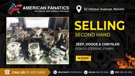 Selling Second Hand Jeep, Dodge & Chrysler Power Steering Pumps for sa
