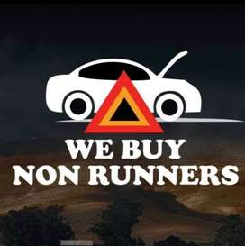 WE BUY RUNNING AND NON RUNNING VEHICLES