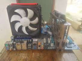 Motherboard combo and graphic card