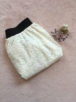 Biała spódnica koronkowa The Trend House