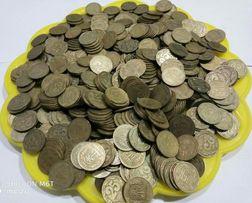 25 коп 1992 г. - (2000 шт.) ,50 коп 1992 г. - 1300 шт. Монеты Украины