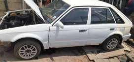 Ford Laser 1.3 now stripping for spares.
