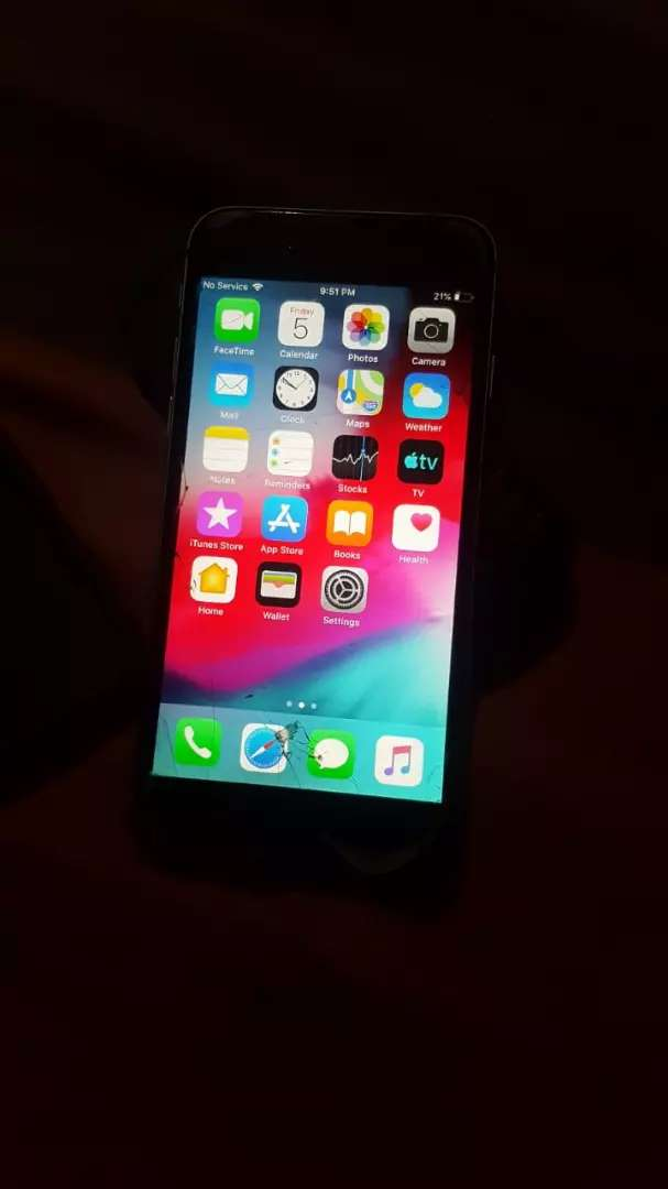 IPhone 6  its storage is 64GB