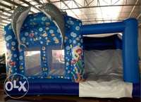 bouncing castle in a stable condition 0