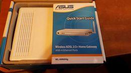 Router Asus WL-AM604G. Komplet