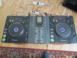 Pioneer CDJ-1000 MK2 , DJM 909, HDJ-1000