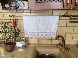 Старинное полотенце кухонное в идеальном состоянии. Ручной работы.