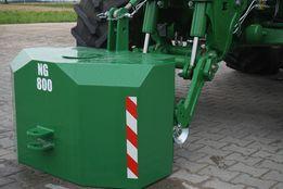 balast do ciągnika obciążniki ciężarki na przedni tuz tuza tur betonow