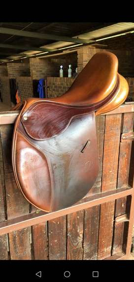 Bates Saddle/ Horse saddle
