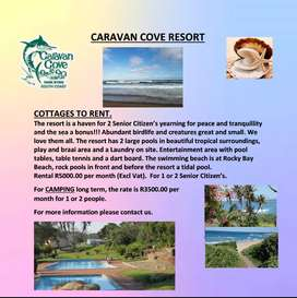 Cottages to Rent at Caravan Cove Resort