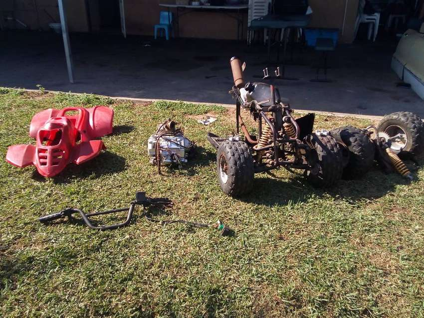 Quad bike with a faulty Carborator 0