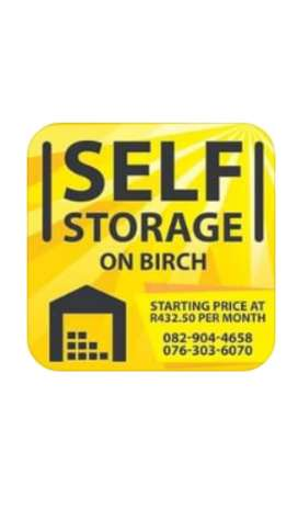 Self storage units in Benoni