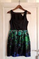 MANGO sukienka krótka mini 34 36 XS S kwiaty Zara Mohito Orsay RESERVE
