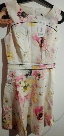 Sukienka w kwiaty Orsay 36 38 nowa z metką Toruń - image 2