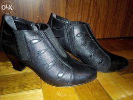 Женские кожаные ботинки (Польша)